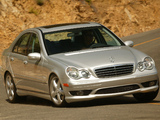Photos of Mercedes-Benz C 280 Sports Package US-spec (W203) 2005–07