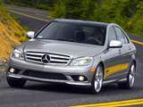 Photos of Mercedes-Benz C 300 Sport US-spec (W204) 2007–10