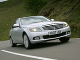 Photos of Mercedes-Benz C 350 UK-spec (W204) 2007–11