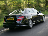 Photos of Mercedes-Benz C 220 CDI Sport UK-spec (W204) 2007–11