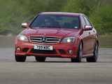 Photos of Mercedes-Benz C 63 AMG UK-spec (W204) 2007–11