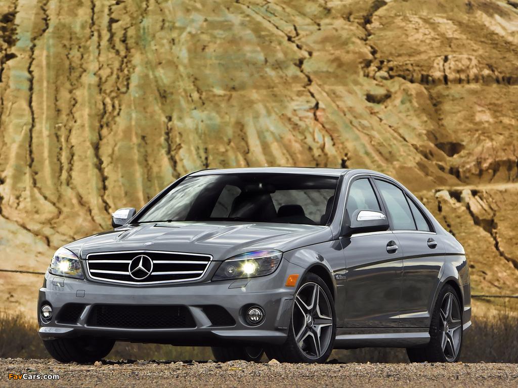 Photos of Mercedes-Benz C 63 AMG US-spec (W204) 2007–11 (1024 x 768)