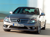 Photos of Mercedes-Benz C 320 CDI Sport (W204) 2007–11