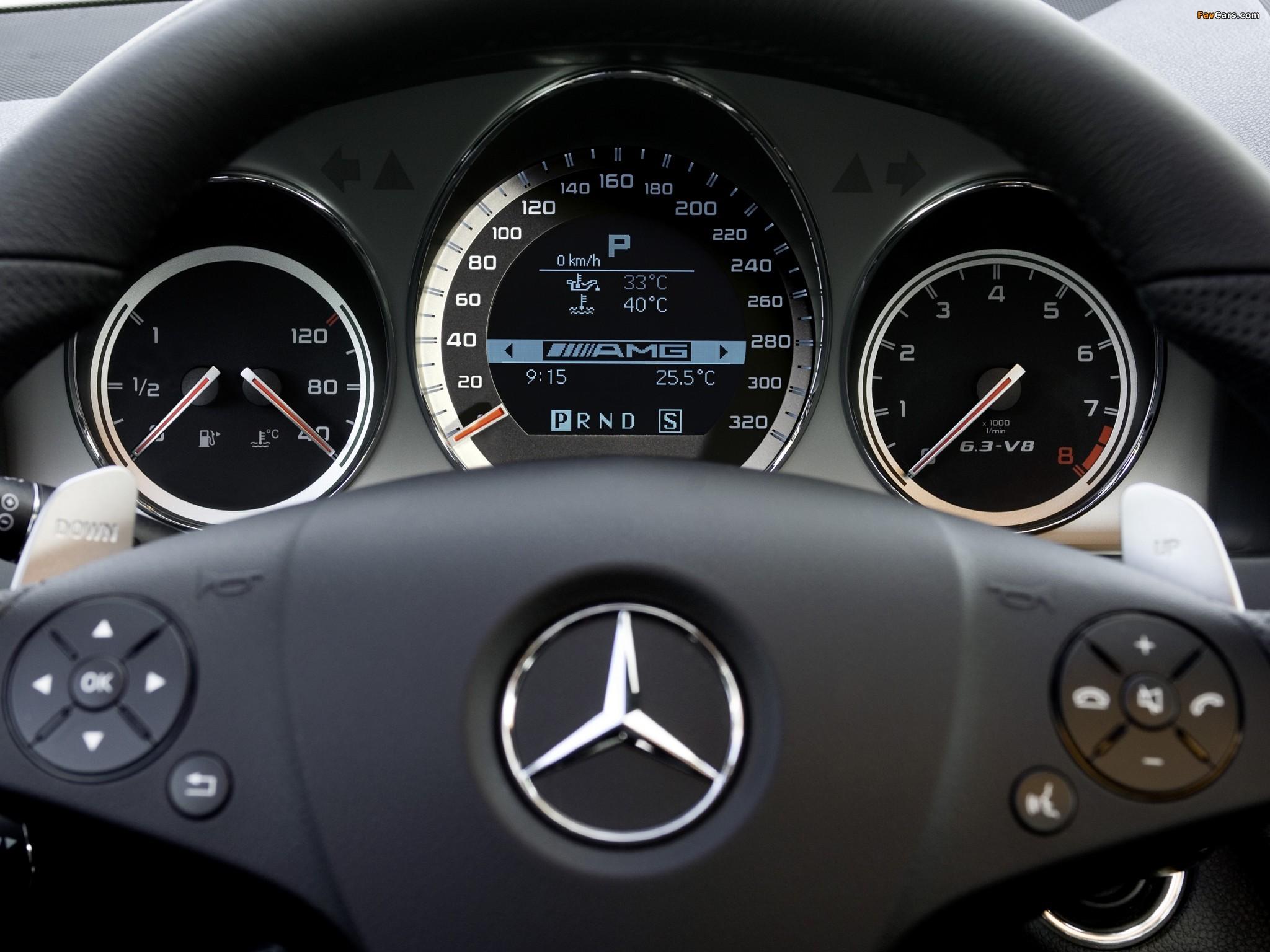 Photos of Mercedes-Benz C 63 AMG Estate (S204) 2008–11 (2048 x 1536)