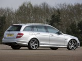 Photos of Mercedes-Benz C 63 AMG Estate UK-spec (S204) 2008–11