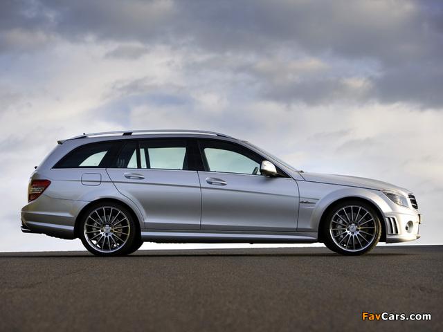 Photos of Mercedes-Benz C 63 AMG Estate (S204) 2008–11 (640 x 480)
