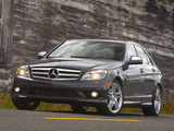 Photos of Mercedes-Benz C 350 Sport US-spec (W204) 2008–11