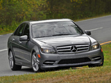 Photos of Mercedes-Benz C 300 Sport US-spec (W204) 2010–11