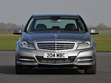 Photos of Mercedes-Benz C 180 UK-spec (W204) 2011