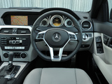 Photos of Mercedes-Benz C 220 CDI AMG Sports Package UK-spec (W204) 2011