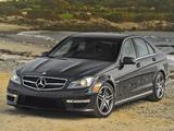 Photos of Mercedes-Benz C 63 AMG US-spec (W204) 2011