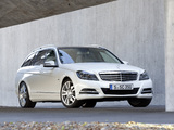 Photos of Mercedes-Benz C 350 CDI Estate (S204) 2011