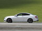 Photos of Mercedes-Benz C 63 AMG Coupe AU-spec (C204) 2011