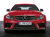 Photos of Mercedes-Benz C 63 AMG Black Series Coupe (C204) 2011