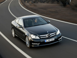 Photos of Mercedes-Benz C 250 CDI Coupe (C204) 2011