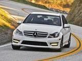 Photos of Mercedes-Benz C 300 4MATIC AMG Sports Package US-spec (W204) 2011
