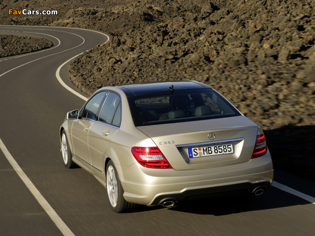 Photos of Mercedes-Benz C 350 AMG Sports Package (W204) 2011 (640 x 480)