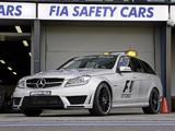 Photos of Mercedes-Benz C 63 AMG Estate F1 Medical Car (S204) 2011