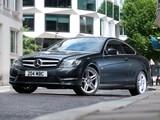 Photos of Mercedes-Benz C 220 CDI Coupe UK-spec (C204) 2011