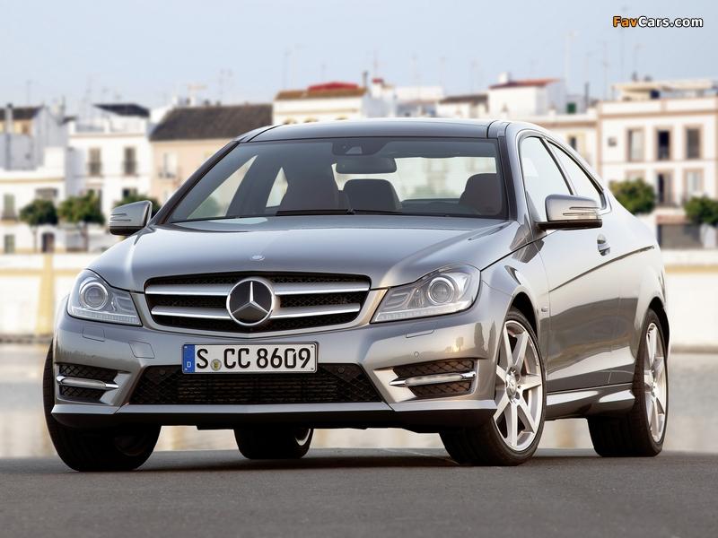 Photos of Mercedes-Benz C 250 Coupe (C204) 2011 (800 x 600)