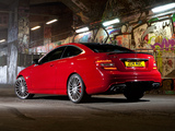 Photos of Mercedes-Benz C 63 AMG Coupe UK-spec (C204) 2011