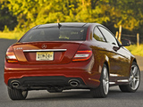 Photos of Mercedes-Benz C 350 Coupe US-spec (C204) 2011