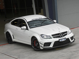 Photos of Mercedes-Benz C 63 AMG Black Series Coupe AU-spec (C204) 2012