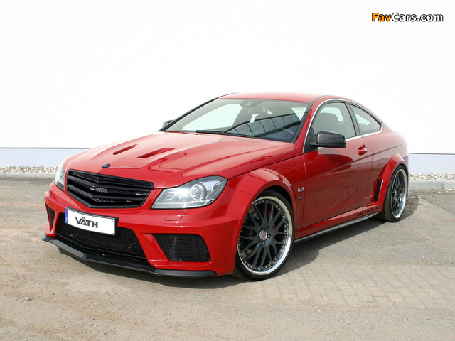 Photos of VÄTH V63 Supercharged Black Series Coupe (C204) 2012 (640 x 480)