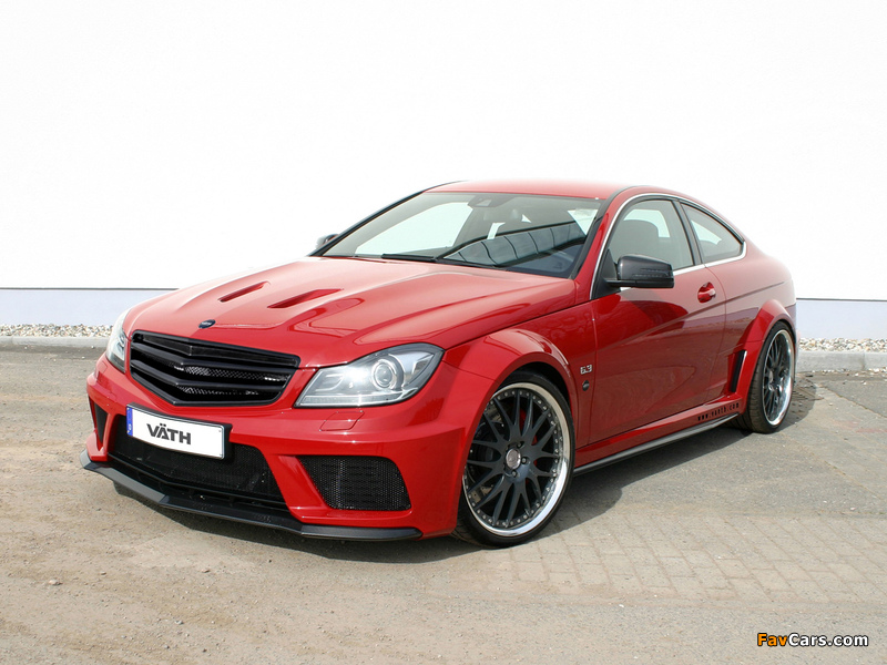 Photos of VÄTH V63 Supercharged Black Series Coupe (C204) 2012 (800 x 600)