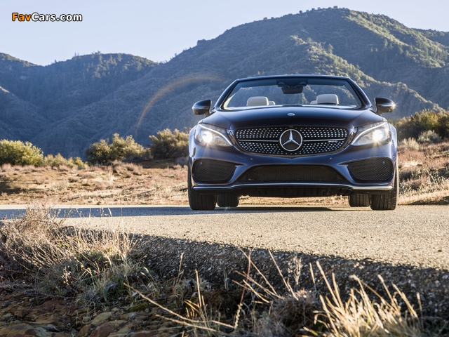 Photos of Mercedes-AMG C 43 4MATIC Cabriolet North America (A205) 2016 (640 x 480)