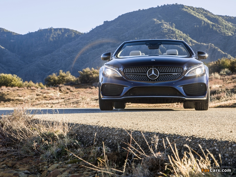 Photos of Mercedes-AMG C 43 4MATIC Cabriolet North America (A205) 2016 (800 x 600)