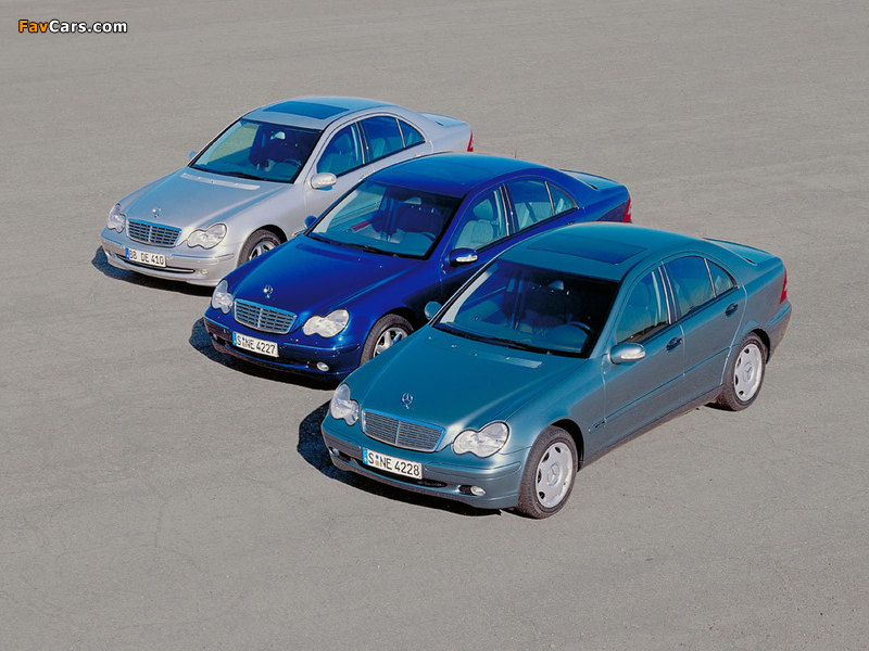 Photos of Mercedes-Benz C-Klasse 203 (800 x 600)