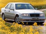 Pictures of Mercedes-Benz C 36 AMG UK-spec (W202) 1993–97