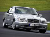 Pictures of Mercedes-Benz C 43 AMG (W202) 1997–2000