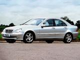 Pictures of Mercedes-Benz C 320 UK-spec (W203) 2000–05