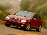Pictures of Mercedes-Benz C 320 US-spec (W203) 2000–05
