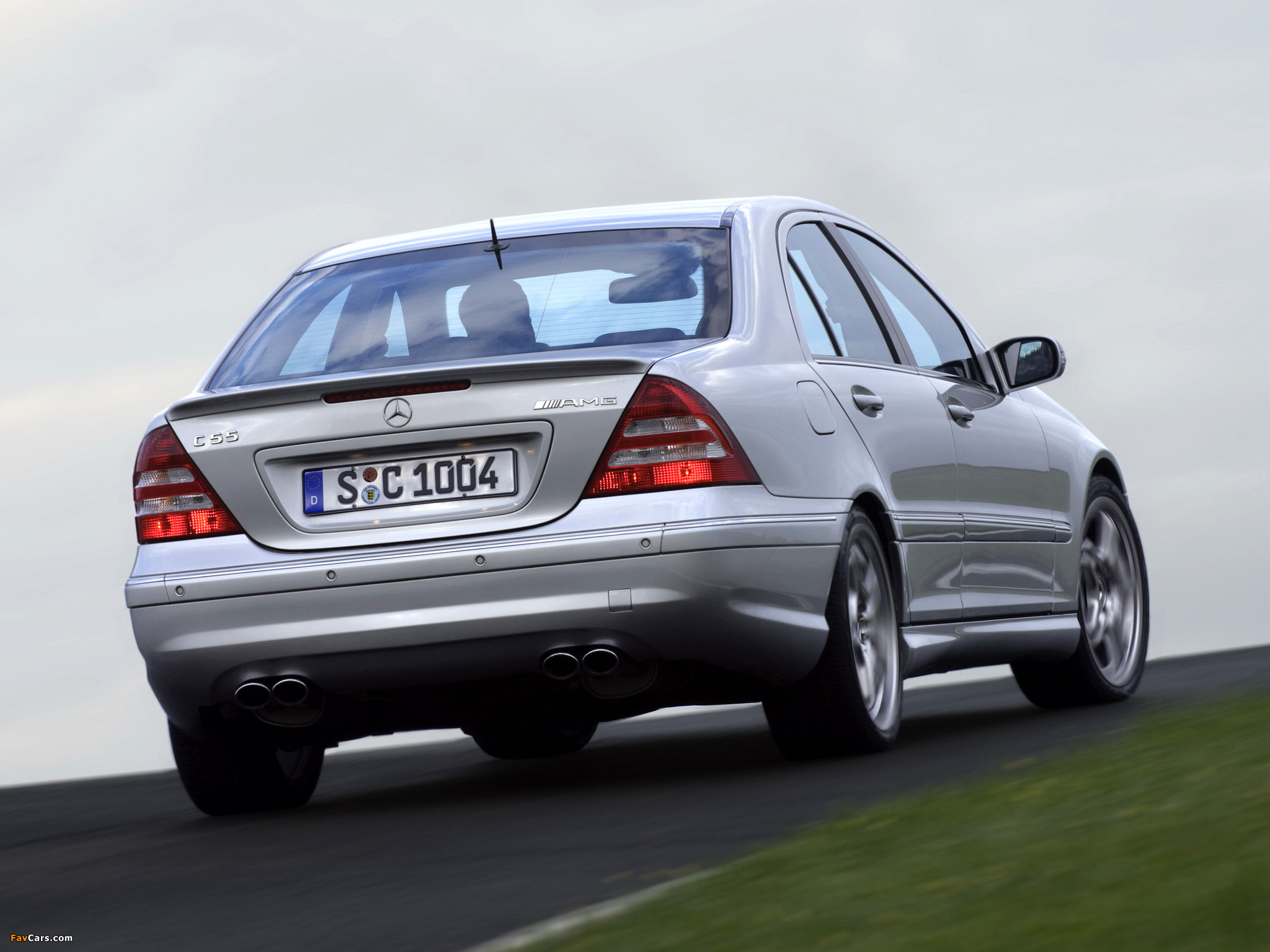 Pictures of Mercedes-Benz C 55 AMG (W203) 2004–07 (2048 x 1536)