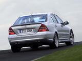 Pictures of Mercedes-Benz C 55 AMG (W203) 2004–07