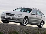 Pictures of Mercedes-Benz C 230 Estate UK-spec (S203) 2005–07