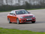 Pictures of Mercedes-Benz C 63 AMG UK-spec (W204) 2007–11
