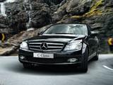 Pictures of Mercedes-Benz C-Klasse (W204) 2007–11