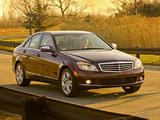 Pictures of Mercedes-Benz C 300 US-spec (W204) 2007–11