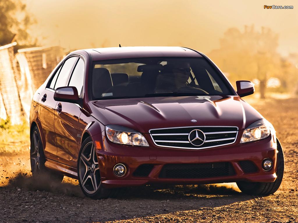 Pictures of Mercedes-Benz C 63 AMG US-spec (W204) 2007–11 (1024 x 768)