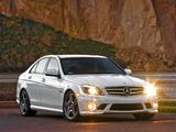 Pictures of Mercedes-Benz C 63 AMG US-spec (W204) 2007–11