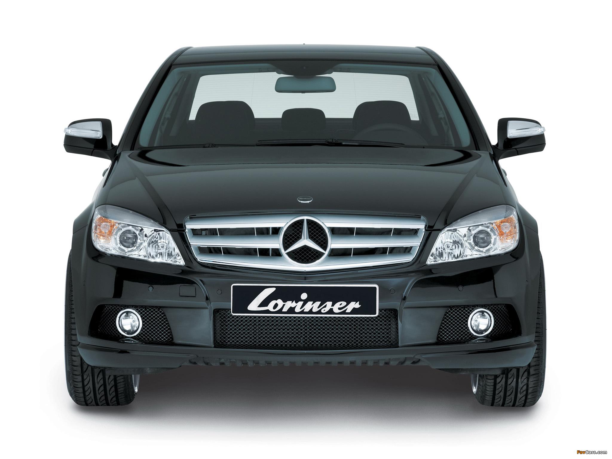 Pictures of Lorinser Mercedes-Benz C-Klasse (W204) 2007–11 (2048 x 1536)