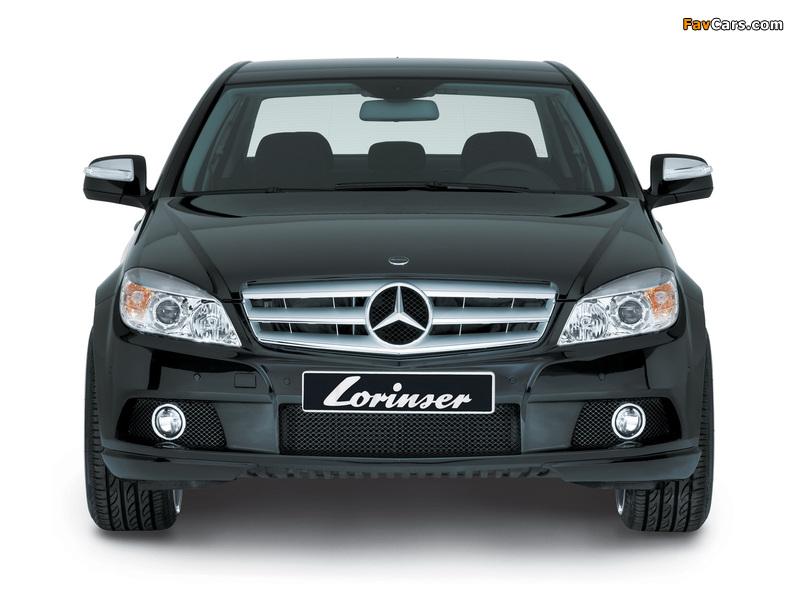 Pictures of Lorinser Mercedes-Benz C-Klasse (W204) 2007–11 (800 x 600)
