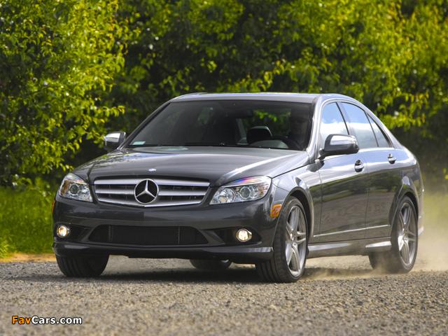Pictures of Mercedes-Benz C 350 Sport US-spec (W204) 2008–11 (640 x 480)