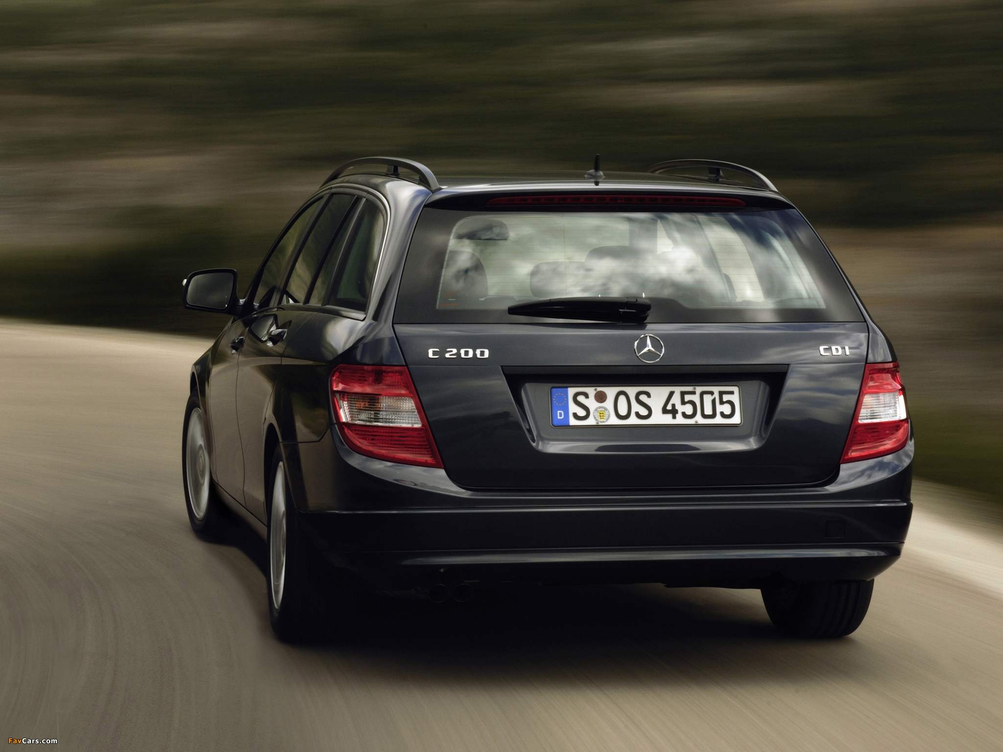 Pictures of Mercedes-Benz C 200 CDI Estate (S204) 2008–11 (2048 x 1536)