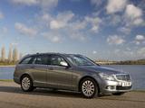 Pictures of Mercedes-Benz C 220 CDI Estate UK-spec (S204) 2008–11