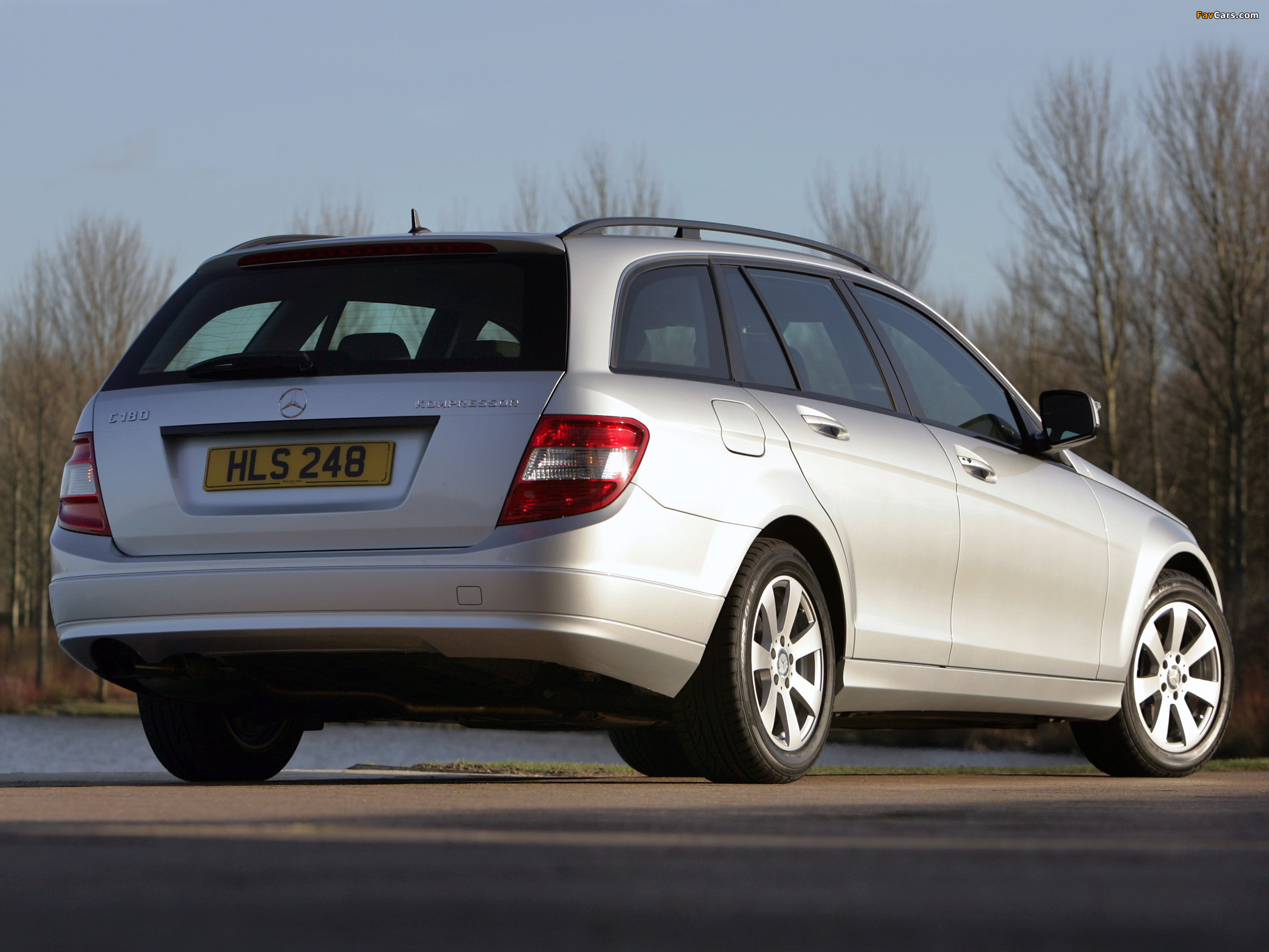Pictures of Mercedes-Benz C 180 Kompressor Estate UK-spec (S204) 2008–11 (2048 x 1536)